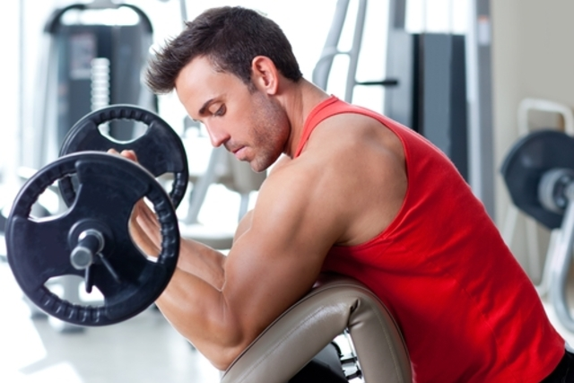 Begin training by weight training